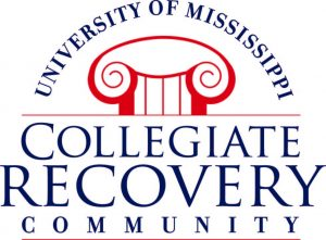 Collegiate Recovery Community logo - University of Mississippi