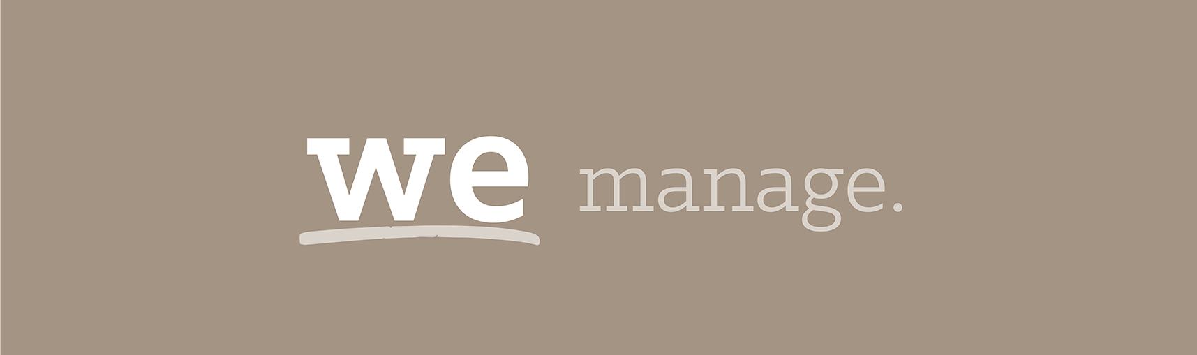We Manage.