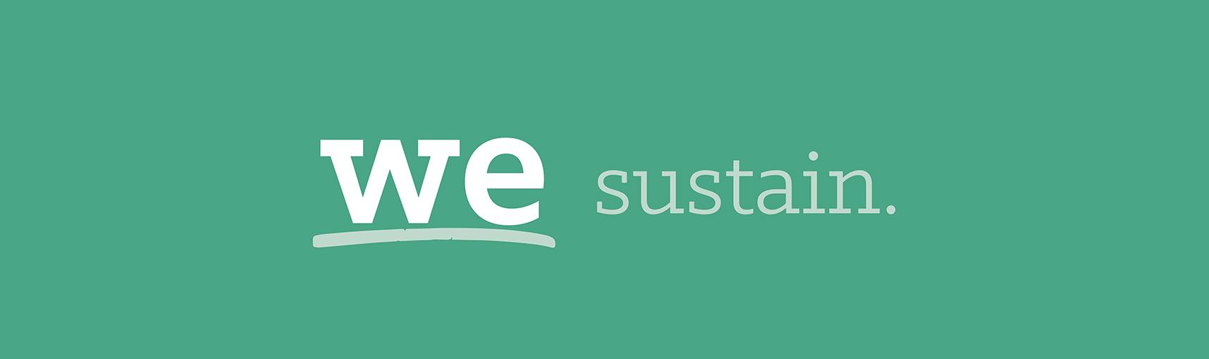 We Sustain.